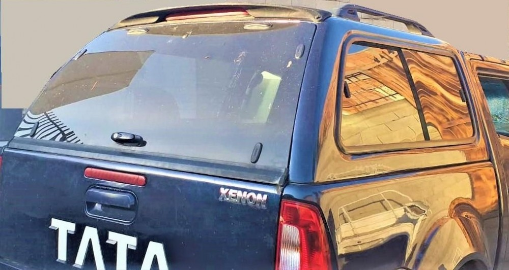 HARD TOP VETRATO PER TATA PICK UP - XENON
